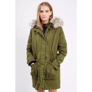 Premium Faux Fur Lined Parka